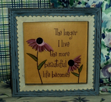 "10""x10"" That Longer"" $29.50 Scalloped Purple Boarder"
