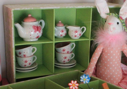 13 pc. Butterfly Mini Tea Set $29.50 Tea for you and tea for me