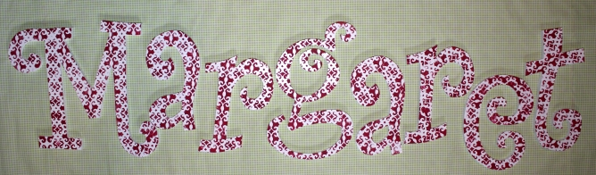 "Curly Custom Name - Polka Dot $15.75 per letter Includes one uppercase followed by lowercase Uppercase 11"", Lowercase 8"""