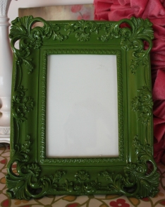 "5""x7"" Lacquered Frame $39.00 This frame is charming and sophisticated."