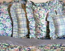 Plaid & Posie Pillow Accents