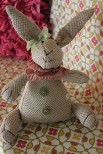 Textured Bunny Friend $29.50 This heirloom looking friend brings a touch of fun to any room.