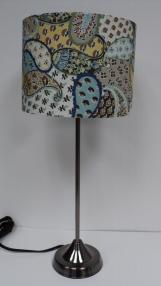 Blue Paisley Lamp $59.50