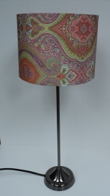 Multi Paisley Lamp $59.50