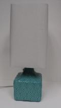 Aqua Square Lamp $59.50