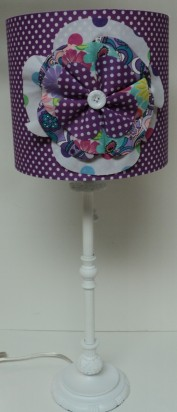 Purple Flower Burst Lamp $179.00