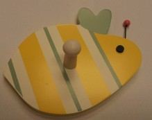 Buzzy Bee Wall Peg $9.50