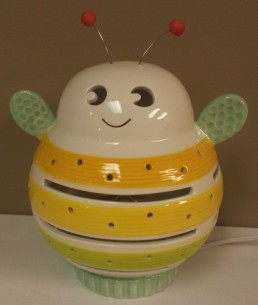 Porcelain Buzzy Bee Night Lightt $49.00 Click here to BUY