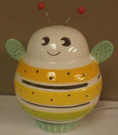 Porcelain Buzzy Bee Night Light $49.00