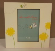 """12""""sqr. Buzzy Bee Frame 4x6 $19.50 Click here to BUY"""