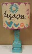 161/2″H Dream Lamp $69.00