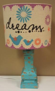 161/2″H Dream Lamp $69.00