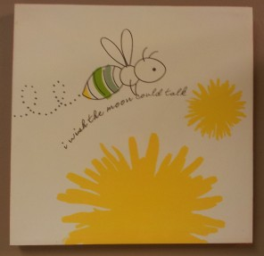 "12"" sqr. Buzzy Bee Picture Daffodil $19.50 Click here to BUY"