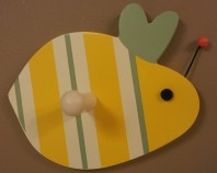 Buzzy Bee Wall Peg $9.50 Click here to BUY