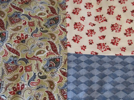 """Emma"" inspired by these fabrics."