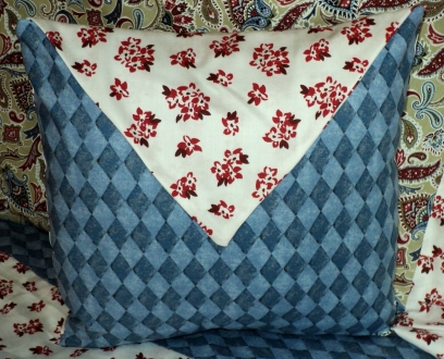 "14"" Envelope Pillow $112.00 Removable cover for washing."