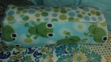 "63""x 62"" Froggy Fleece Throw Blanket $39.50 Click here to BUY"
