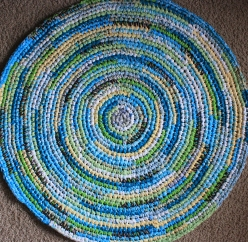 Blue Kids Room Rug