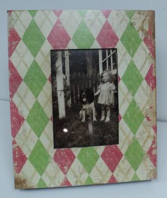 Pink & Green Frame $29.50 5x7