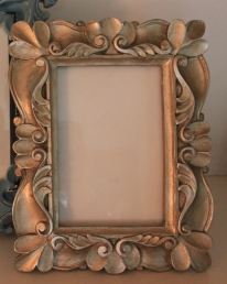 "4""x6"" Gold Bronze Frame $29.50"