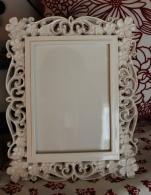 White Floral Frame $39.00 5x7