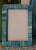 "4""x6"" Aqua Tile Frame $19.50"