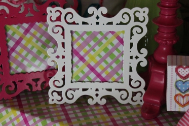 White or Pink Frame $19. 50 each 4x4 ""