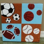 Sports Ball Picture Kids Room