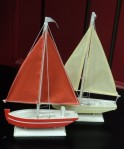"Mini 5""H Sailboats $24.50 Sold as a Set"
