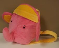 Pink Elephant Backpack $18.50