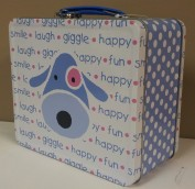Puppy Blue Lunchbox $11.50