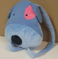 Puppy Blue Backpack $18.50
