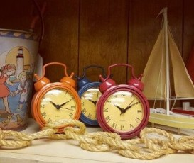 Mix and Match clocks all around the house.