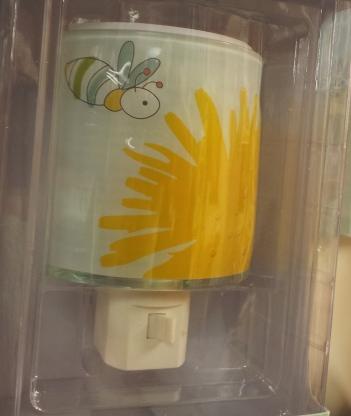 Bee & Sun, Sun Bee Night Light, Girls Room, Kids Room