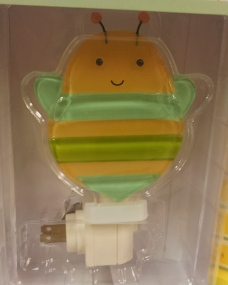 Buzzy Bee Bee Night Light, Girls Room, Kids Room
