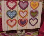 Hearts , Hearts Girls Room, Hearts, Rainbow, Night Lights