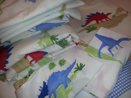 Loved BeforeComplete Dinosaur Set Duvet Cover, 2-Valances, Twin Sheet, Flat Sheet Pillowcase 2-mini toddler pillow cases Click here to BUY