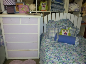 This entire collection is Loved BeforeDresser, Headboard & Bedding