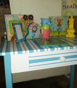 Loved BeforeHand-Painted Desk
