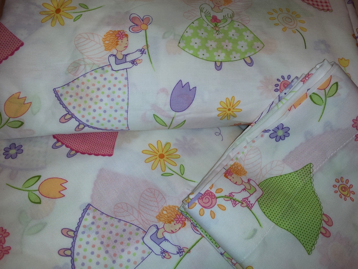 Fairy Princess Sheet Set « Hung Out To Buy