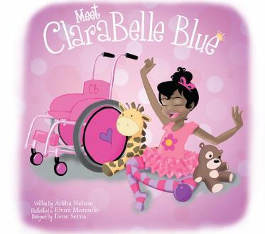 Kids, Kids books, special needs, Clara Belle Blue,