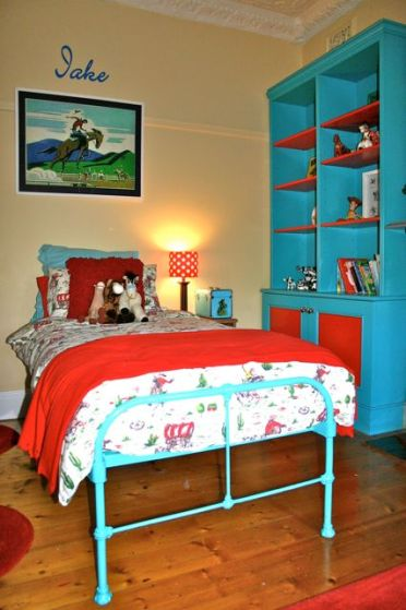 kids room, kids room design, vintage kids room, savvy kids room.